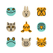 Line vector icon. Vector EPS 10, HD JPEG 4000 x 4000 px