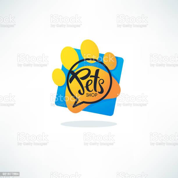 Pets shop logo vector image of vibrant blue speech bubble dog and vector id931877884?b=1&k=6&m=931877884&s=612x612&h=j0xojo2ziem7gghts6  8moa32xp87jkevh03dyot10=