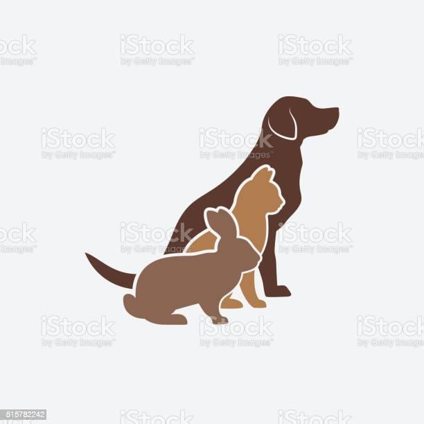 Pets silhouettes dog cat and rabbit logo of pet store vector id515782242?b=1&k=6&m=515782242&s=612x612&h=zj q4bovnr4g6w8yddjgwqezpy88pakmgovtgnkc80i=