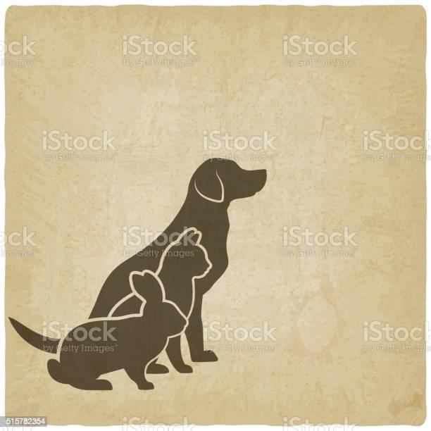 Pets silhouettes dog cat and rabbit logo of pet store vector id515782354?b=1&k=6&m=515782354&s=612x612&h=nxxckcvwfnjyqvmxzrucmqrhtxibiqgweai5syjveaq=