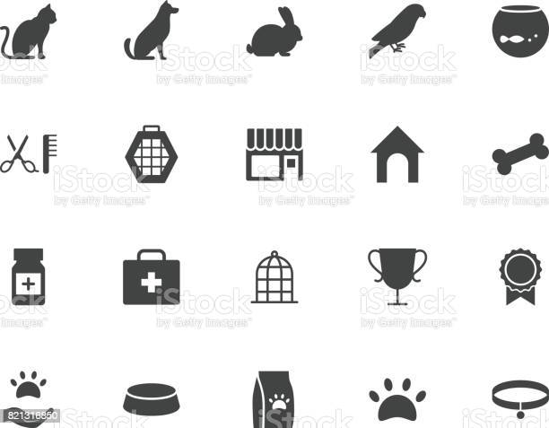 Pets silhouettes icons set vector id821316850?b=1&k=6&m=821316850&s=612x612&h=fhsdj84qlogadyrwtx mklemeczuscmupoqwnf9hcpe=