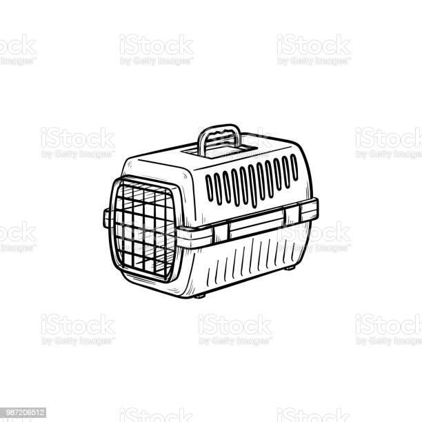 Pets transport box hand drawn outline doodle icon vector id987206512?b=1&k=6&m=987206512&s=612x612&h=u7ionnqdantodzfaawy4sharg5jt p6vuqvjgxfw1va=