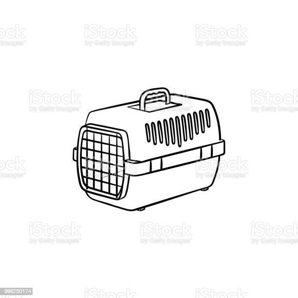 Pets transport box hand drawn outline doodle icon vector id996250174?b=1&k=6&m=996250174&s=612x612&h=wsmzxkskarbhqpzyd2nlgbyc0bblzumaq82rq59qez4=