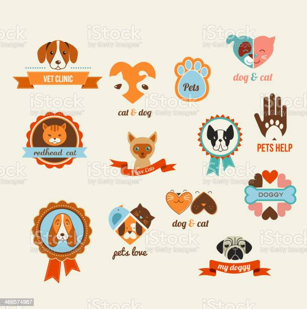 Pets vector icons cats and dogs elements vector id466574987?b=1&k=6&m=466574987&s=612x612&h=64fy3eemva yo2bc79w6kyoinxi9bod hgz9jkudq8c=