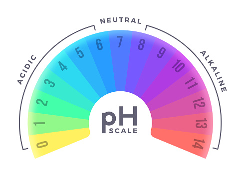pH Scale Gauge