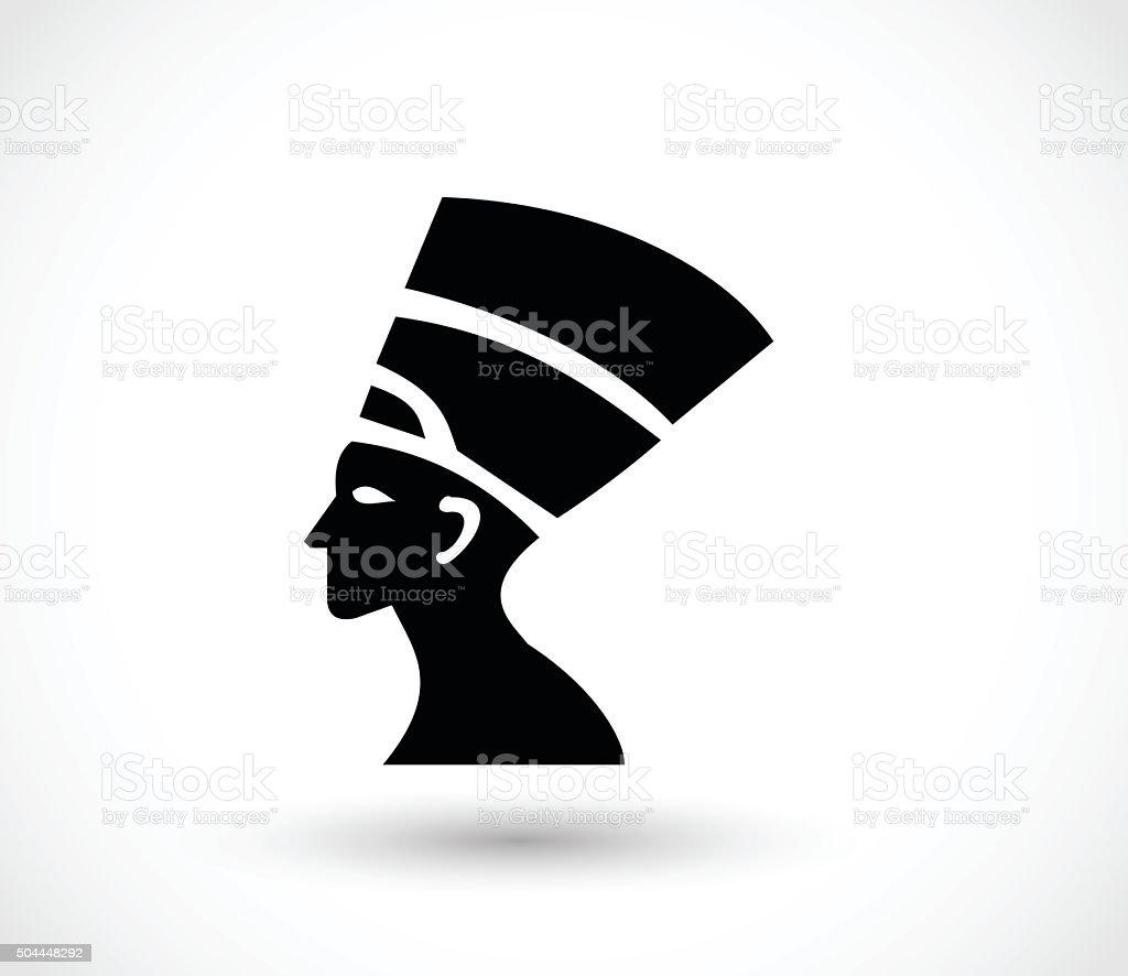 Pharaoh icon vector illustration vector art illustration