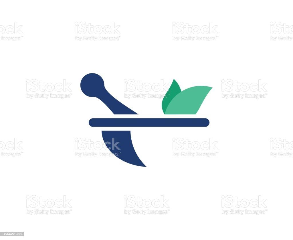 Pharmacy icon vector art illustration