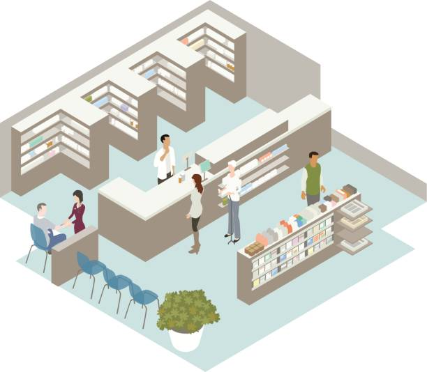 Pharmacy Illustration vector art illustration
