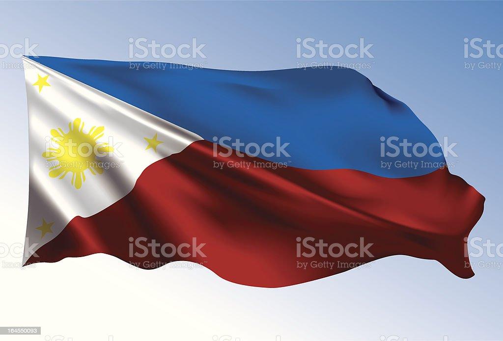 Frohe Weihnachten Philippinisch.Philippinische Flagge Stock Vektor Art Und Mehr Bilder Von Blasen