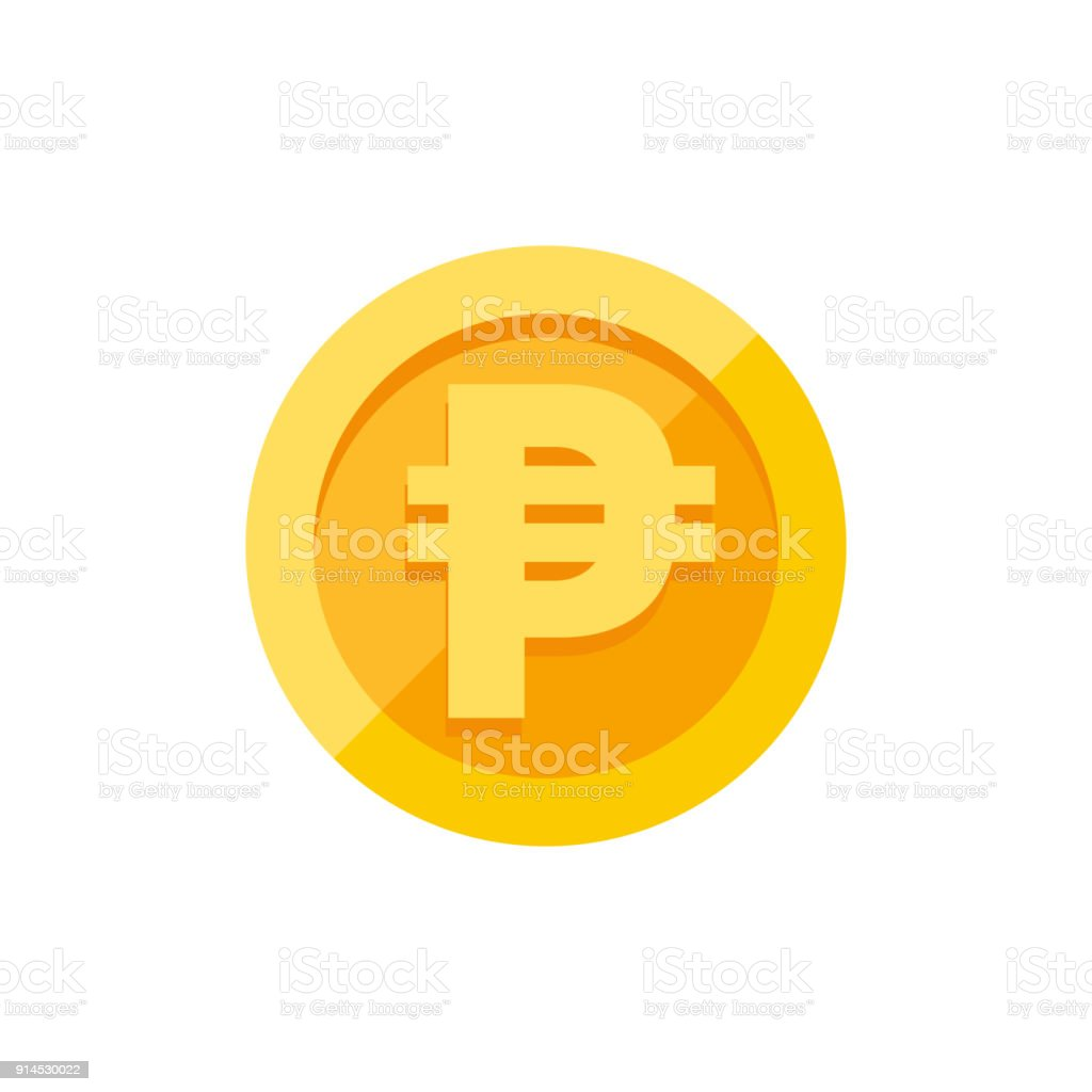Philippine peso currency symbol on gold coin flat style stock philippine peso currency symbol on gold coin flat style royalty free philippine peso currency symbol biocorpaavc