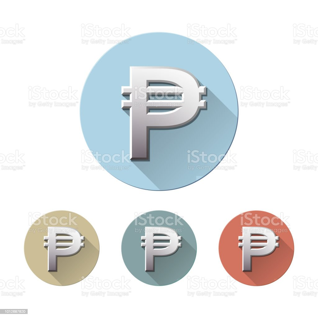 Philippine Peso Currency Symbol Stock Vector Art More Images Of
