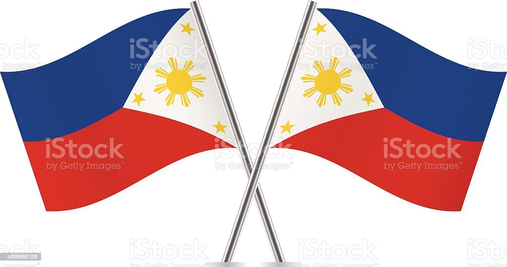 philippine flag clip art, vector images & illustrations - istock