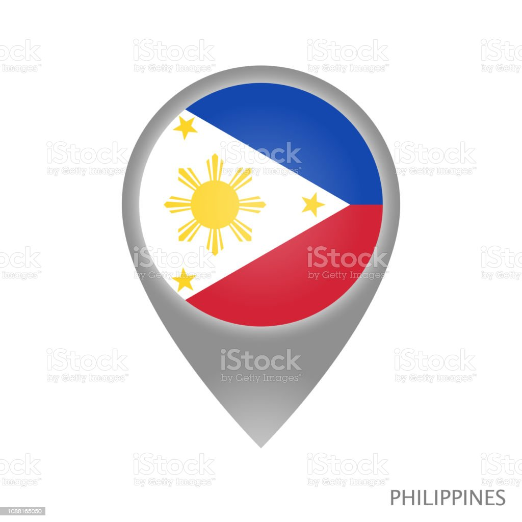 Philippines point vector art illustration