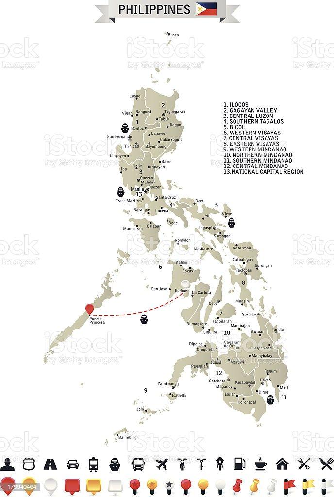 Philippines royalty-free stock vector art