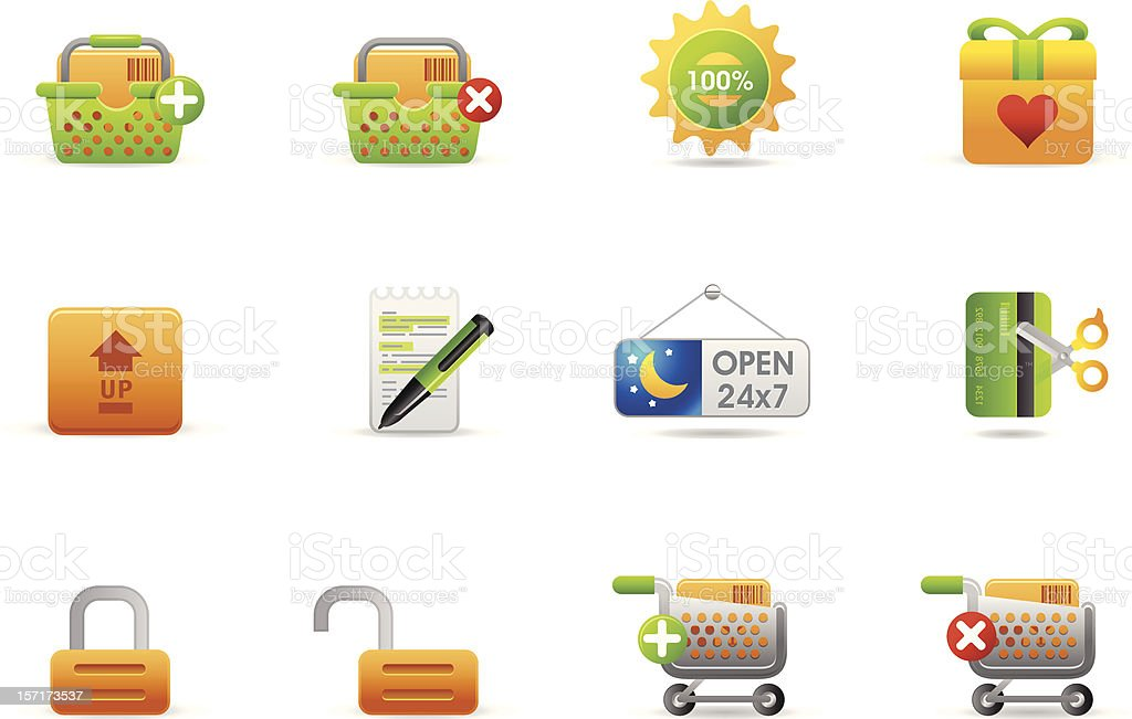 Philos icons - set 6 | Store and eCommerce #2 vector art illustration