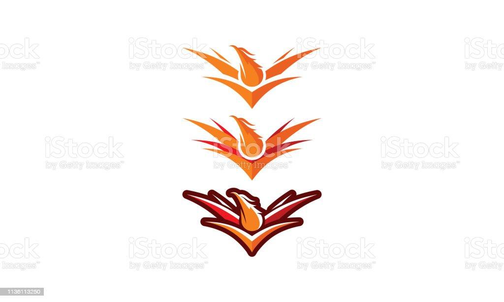 Phoenix Bird Logo Vector Icon Stock Illustration Download Image Now Istock