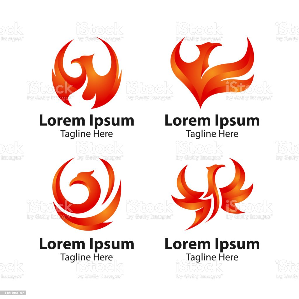 Phoenix Bird Logo Stock Illustration Download Image Now Istock
