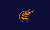 phoenix logo vector icon