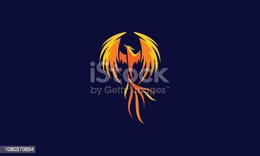 istock phoenix vector icon 1080570854