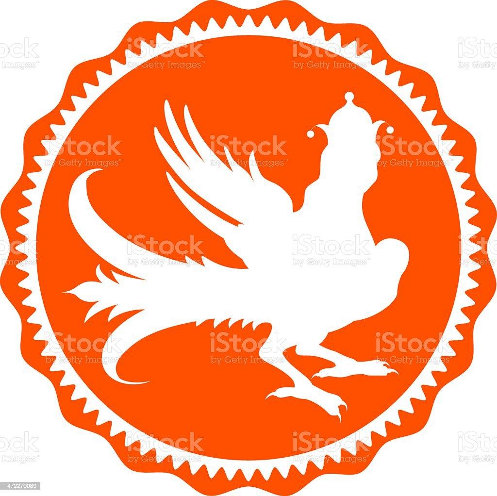 Phoenix (vector) royalty-free stock vector art