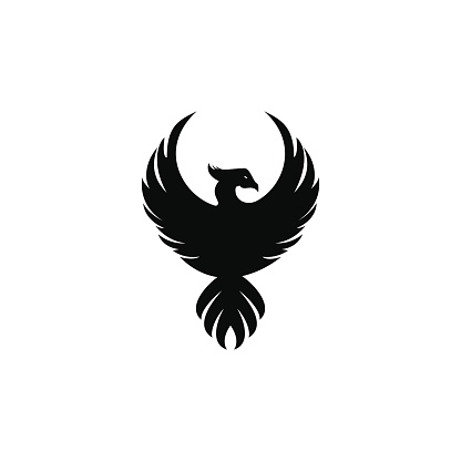 Phoenix vector logo design.