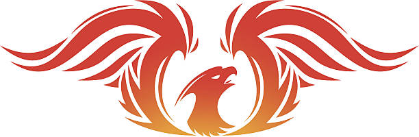 phoenix - - vogel tattoos stock-grafiken, -clipart, -cartoons und -symbole