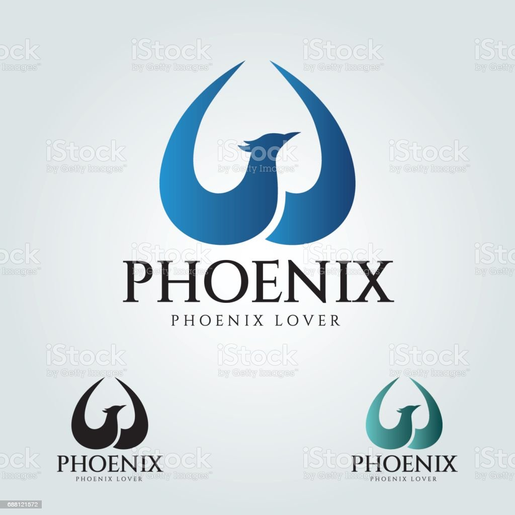 Phoenix vector vector art illustration