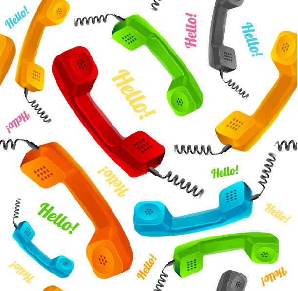 Royalty Free Switchboard Operator Vintage Clip Art, Vector ...
