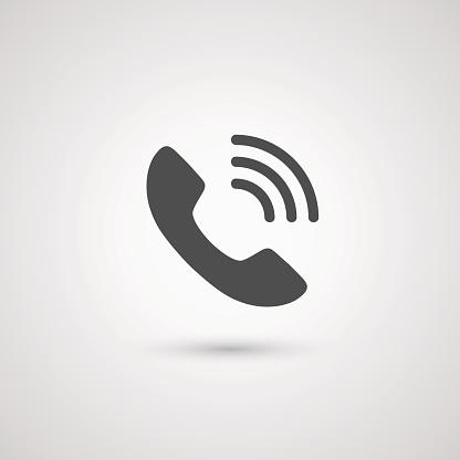 Ilustración de Icono Para Auricular De Teléfono y más Vectores Libres de Derechos de 2015
