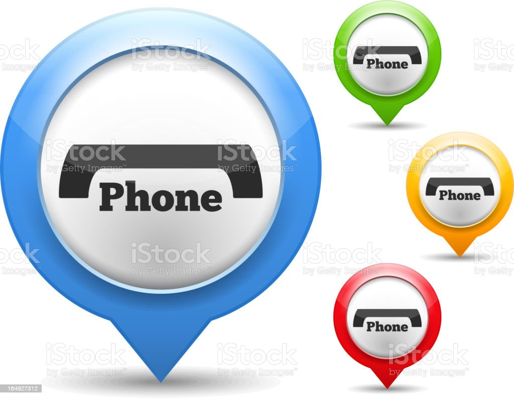 Phone Icon royalty-free stock vector art