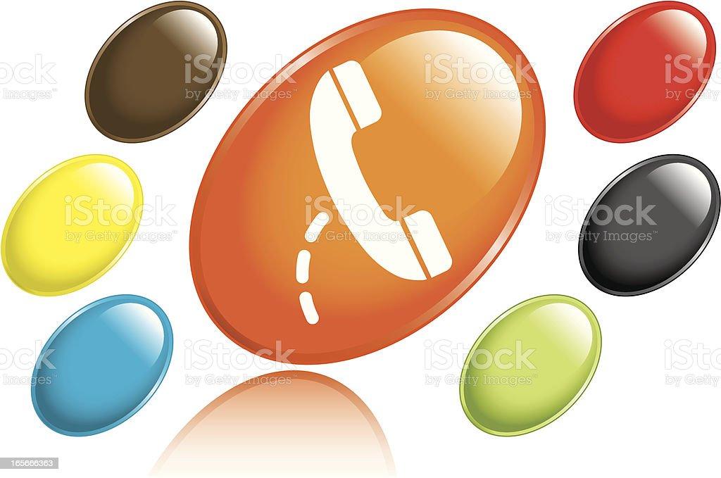 Phone Icon royalty-free stock vector art
