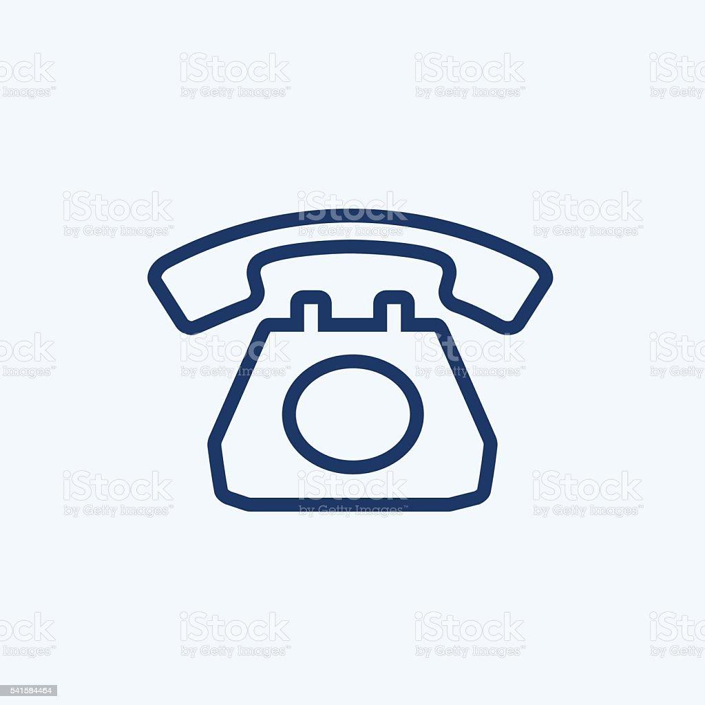 Phone Icon vector art illustration