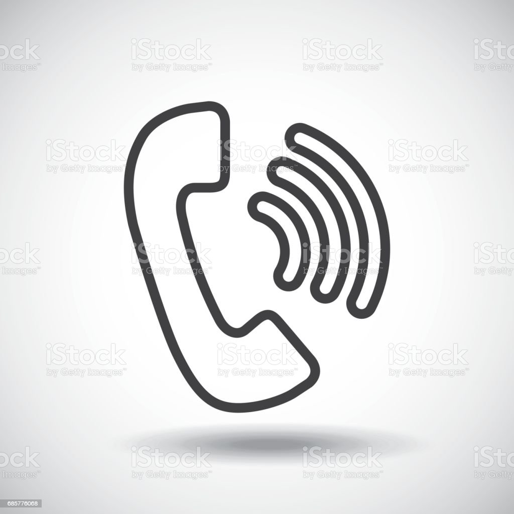 Phone. Silhouette icon design. Vector graphic royalty-free phone silhouette icon design vector graphic stock vector art & more images of abstract