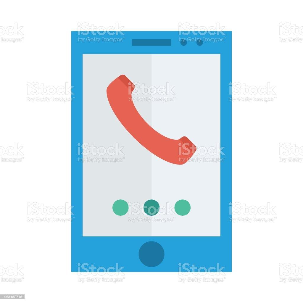 telefon - Royaltyfri App vektorgrafik