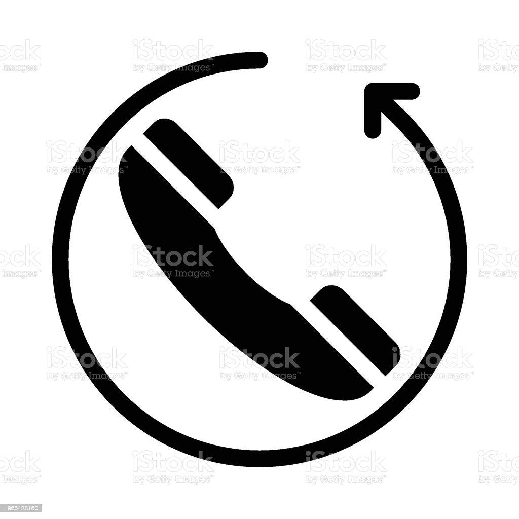 De téléphone - clipart vectoriel de Affaires libre de droits