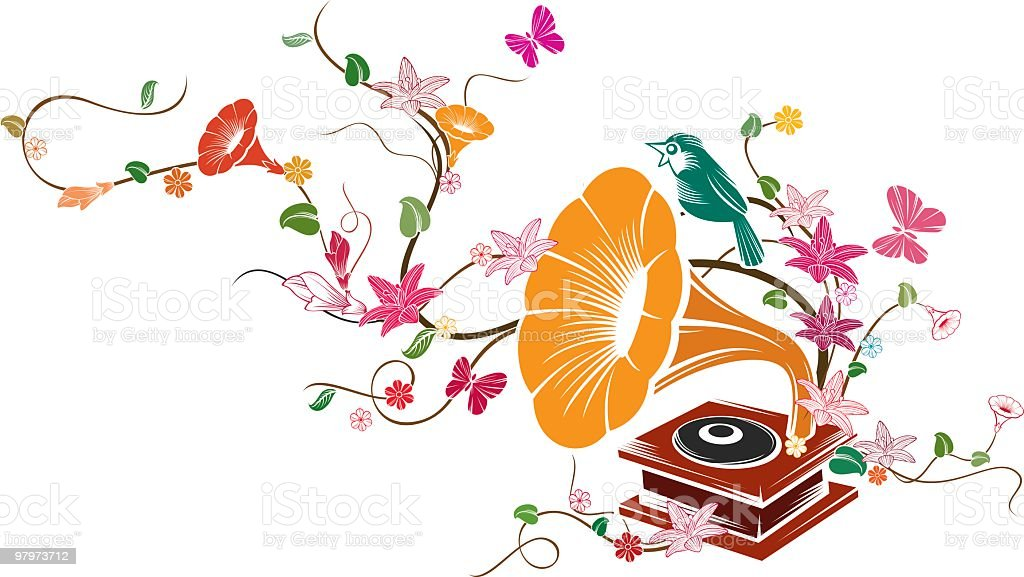 phonograph royalty-free phonograph stock vector art & more images of bird
