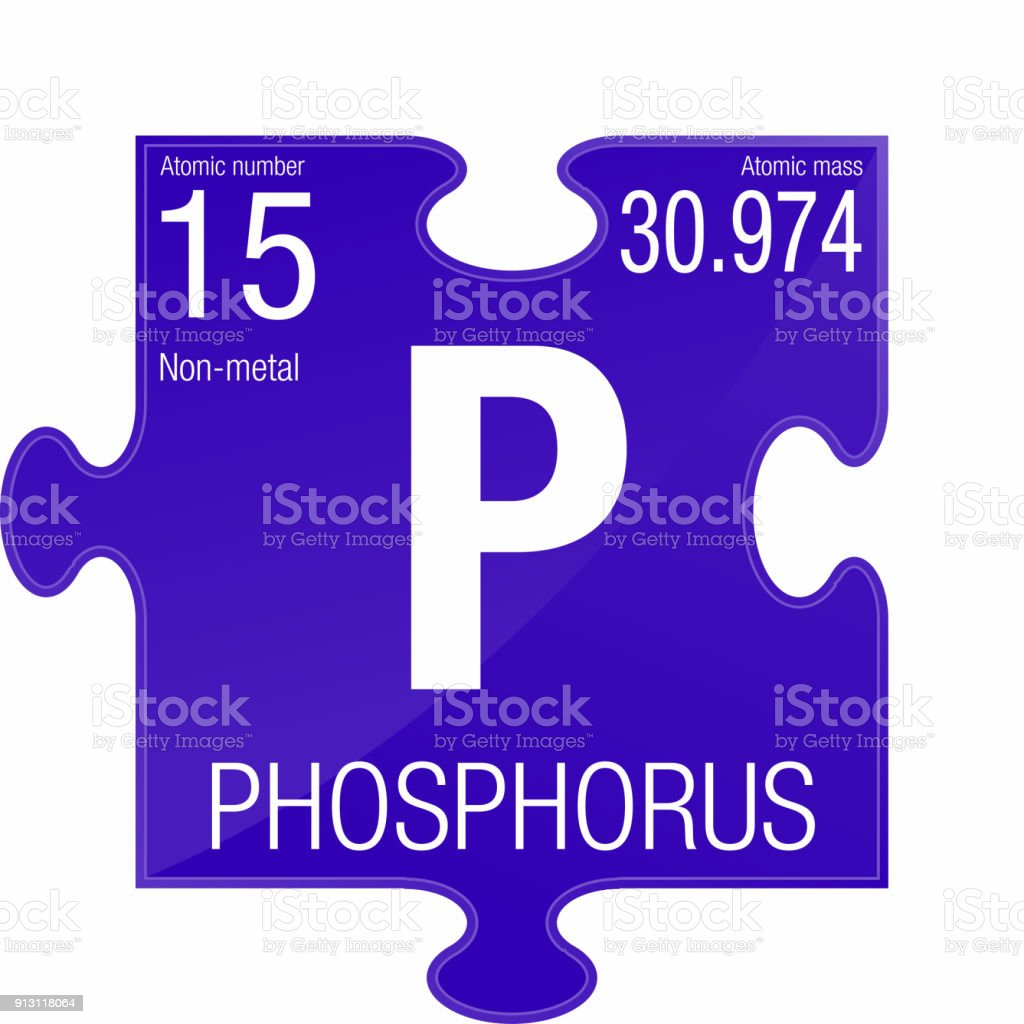 phosphorus symbol element number 15 of the periodic table of the elements chemistry royalty - Periodic Table Phosphorus Atomic Mass