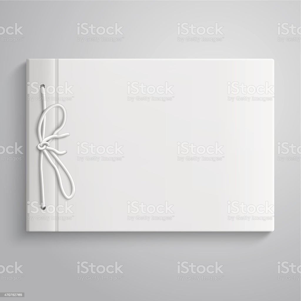 Photo album vector art illustration