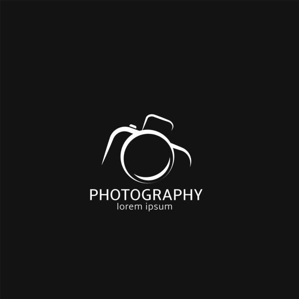 foto-kamera-zeichen - fotografische themen stock-grafiken, -clipart, -cartoons und -symbole