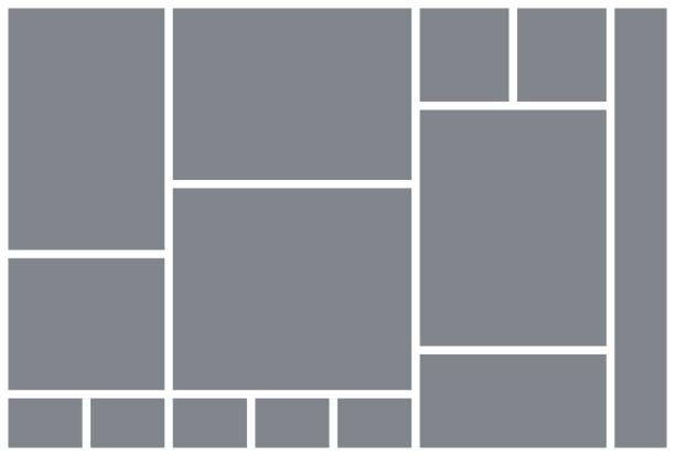 ilustrações, clipart, desenhos animados e ícones de grade de colagem de fotos. modelo de placa de humor. ilustração vetorial. álbum de fotos do mosaico. - mood board