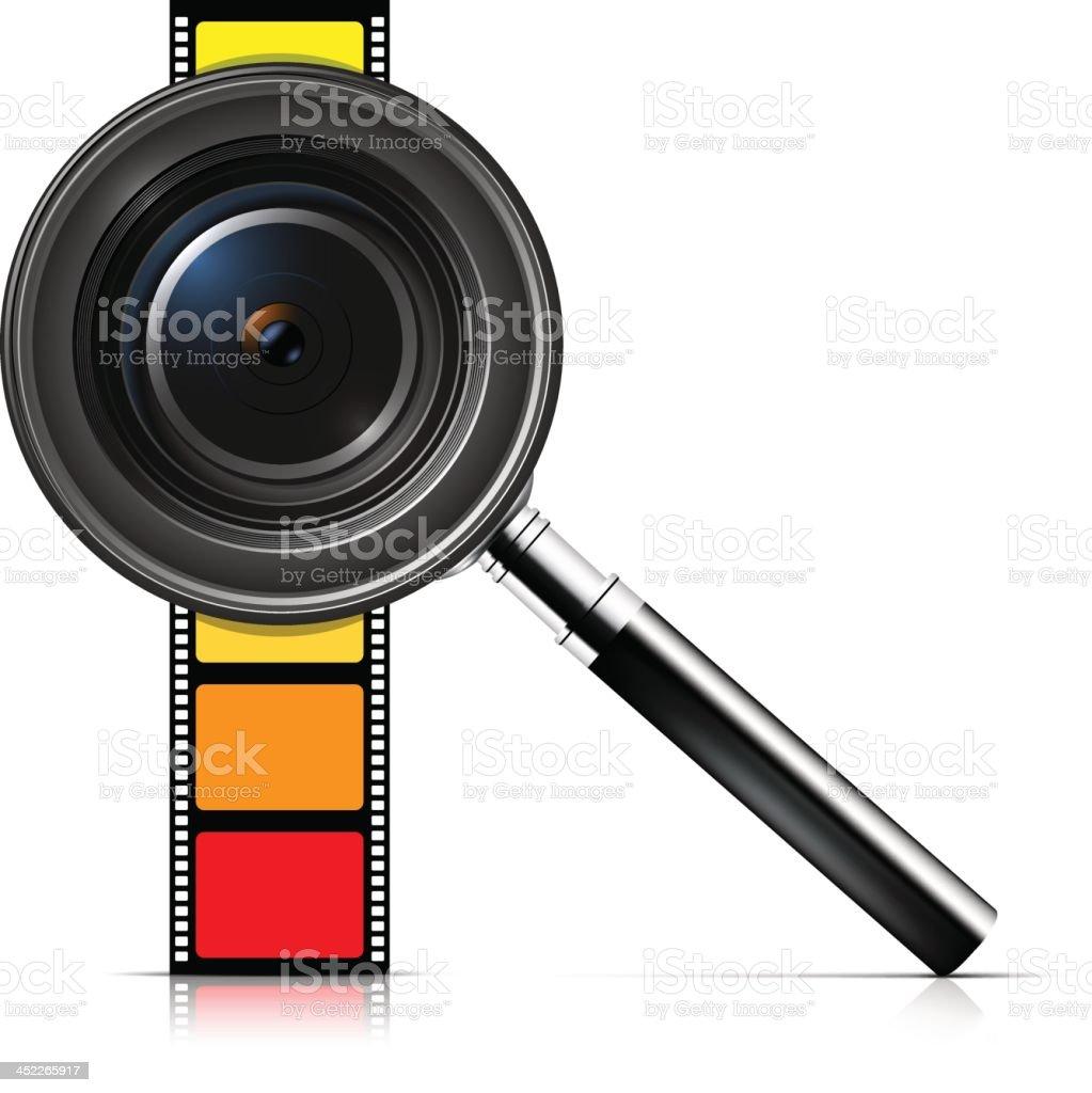 Photo concept royalty-free stock vector art