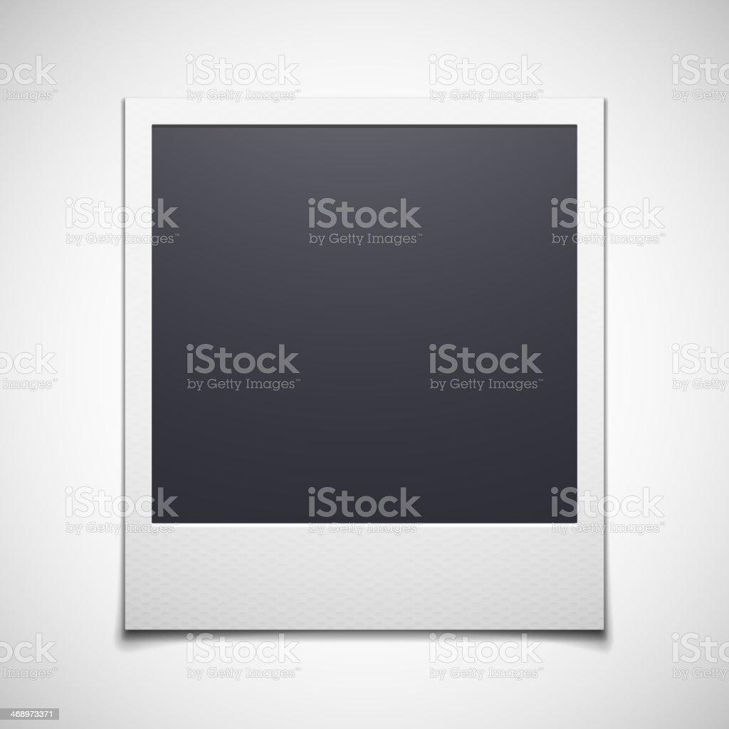 Fotorahmen isoliert auf weißem Hintergrund - Lizenzfrei Altertümlich Vektorgrafik