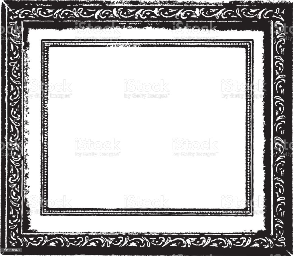 photo frame royalty-free photo frame stock vector art & more images of at the edge of