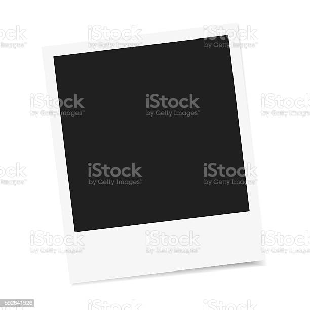 Photo Frame Vector Isolated Stock Vektor Art und mehr Bilder von Bilderrahmen