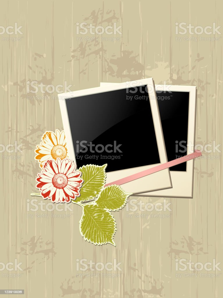 photo frame with flowers royalty-free photo frame with flowers stock vector art & more images of 1940-1949