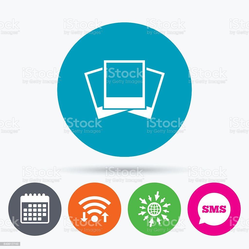 Fotorahmen Vorlagesymbol Leer Fotos Stock Vektor Art und mehr Bilder ...