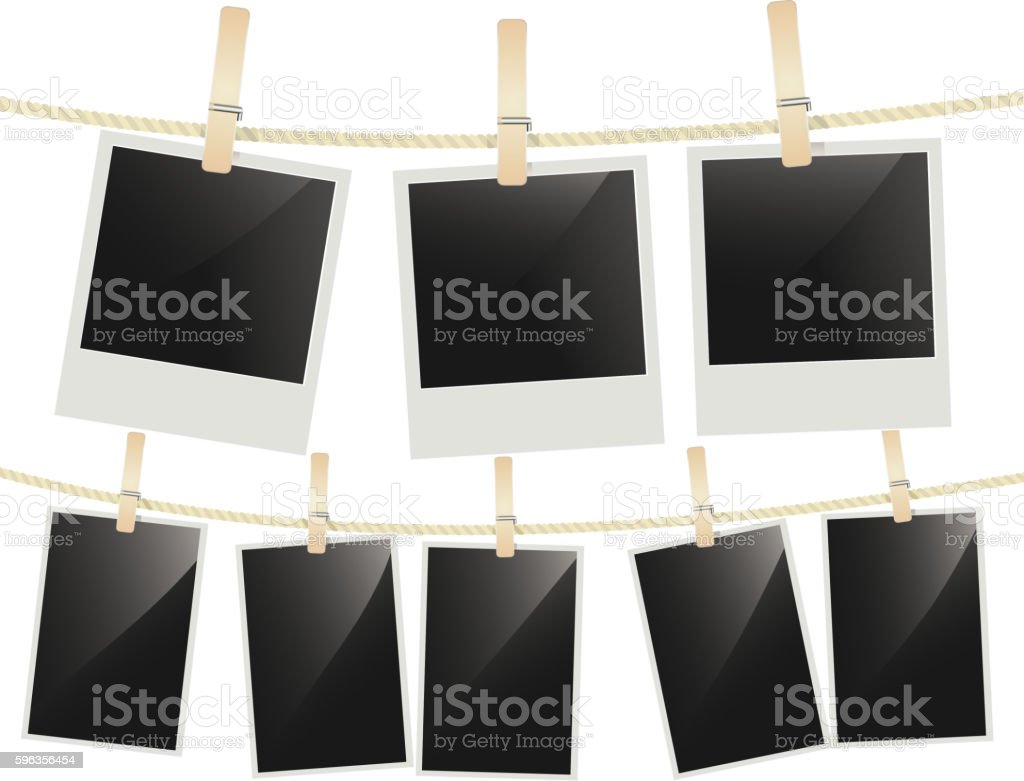 Photo frames royalty-free photo frames stock vector art & more images of analog