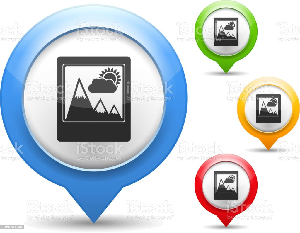 Photo Icon royalty-free photo icon stock vector art & more images of blue