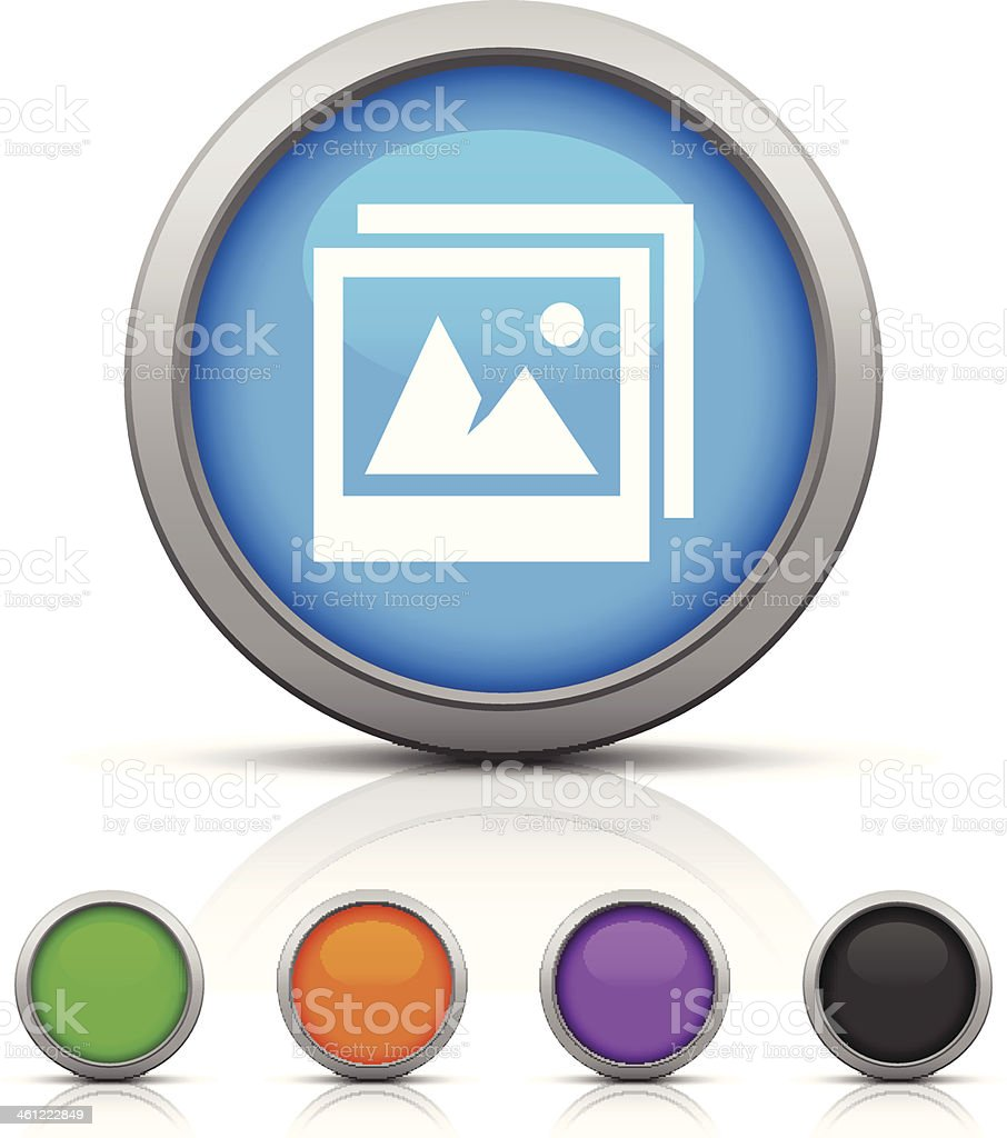 Photo icon royalty-free photo icon stock vector art & more images of black color