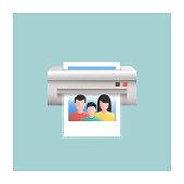 Photo Print Icon
